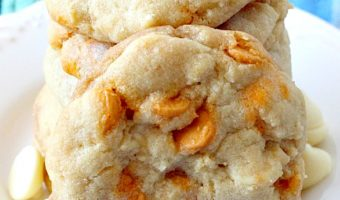 Sea Salt Caramel White Chocolate Cookies