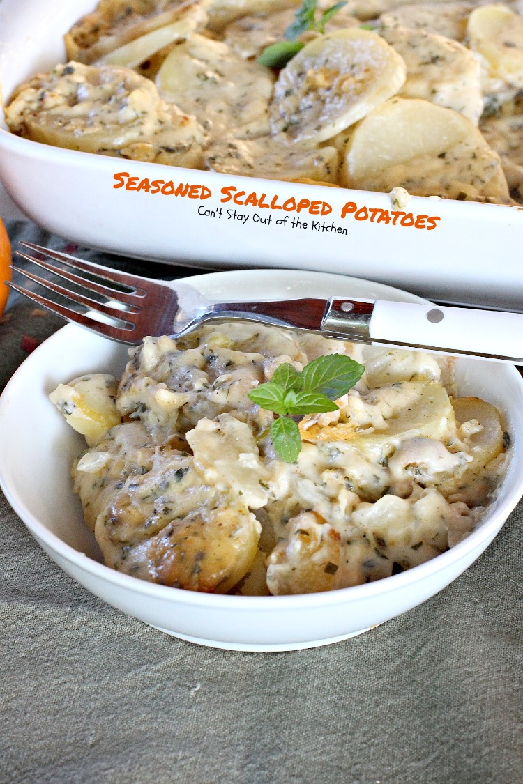 Seasoned scalloped potatoes cant stay out of the kitchen seasoned scalloped potatoes cant stay out of the kitchen tasty potato forumfinder Images