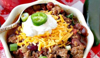 Secret Chili Recipe