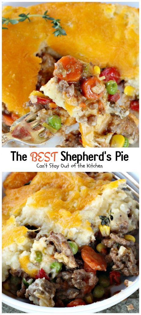 Shepherd's Pie Collage