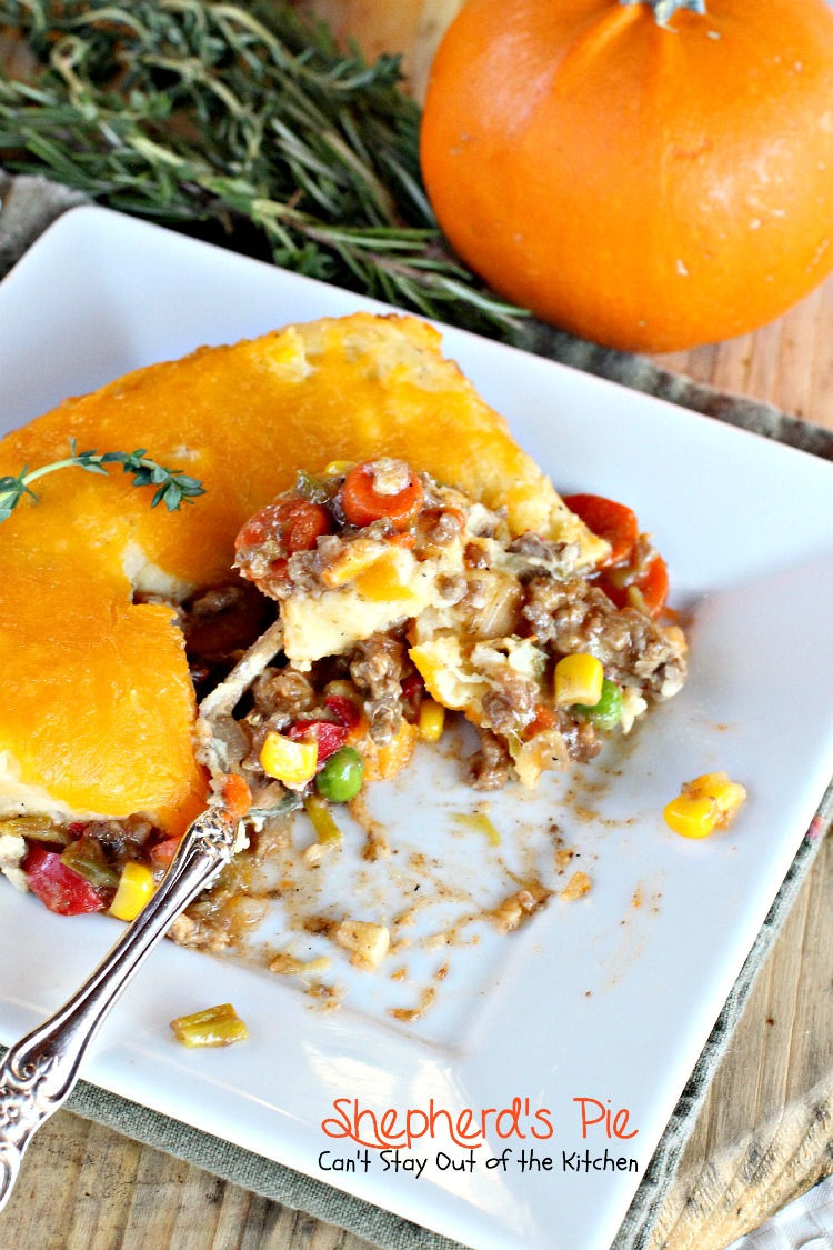 Shepherd's Pie - Can't Stay Out of the Kitchen  Shepherd's ...