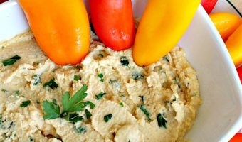 Simply Delicious Homemade Hummus