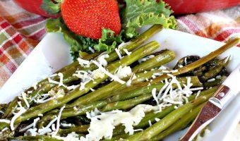 Skinny Roasted Asparagus