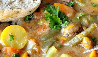 Slow Cooker Beef and Sweet Potato Stew