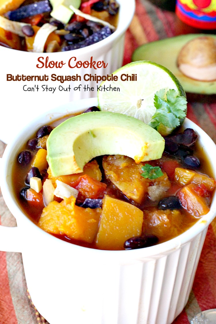 Give this healthy, low calorie, gluten free and vegan chili a try for ...