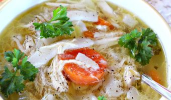 Slow Cooker Gluten Free Chicken Noodle Soup