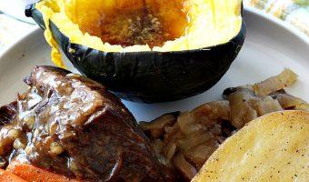 Slow Cooker Onion-Mushroom Pot Roast