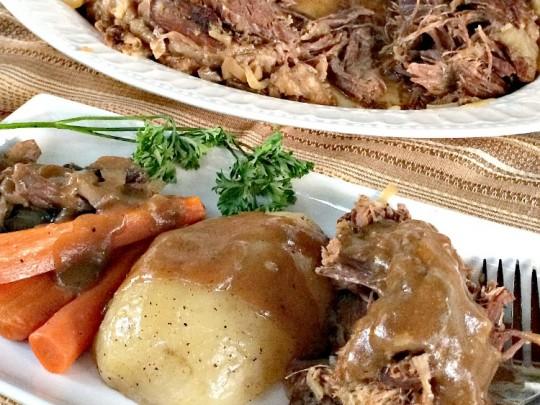 Mushroom Onion Pot Roast Recipes — Dishmaps