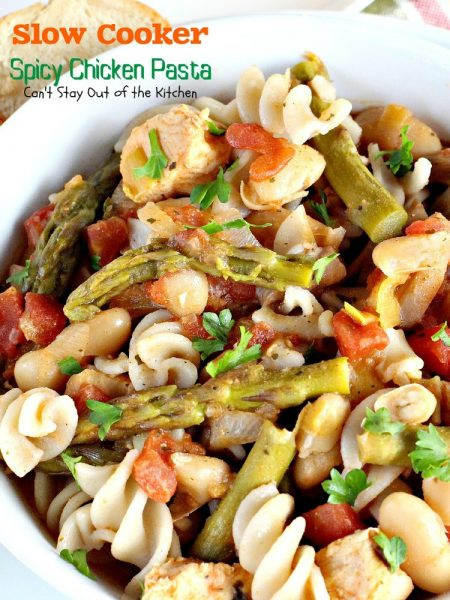 Slow Cooker Spicy Chicken Pasta - IMG_8430