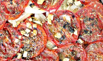 Slow Roasted Summer Vegetables