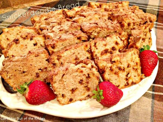 Snickerdoodle Bread - Recipe Pix 7 290