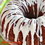 Sock-It-To-Me Cake   Can't Stay Out of the Kitchen   this fantastic #cake will knock your socks off! It has a lovely #pecan streusel filling in the middle & it's glazed with vanilla icing. We serve this as a #coffeecake for #breakfast or for #dessert. #Brunch #Holiday #cinnamon #HolidayBreakfast #SockItToMeCake