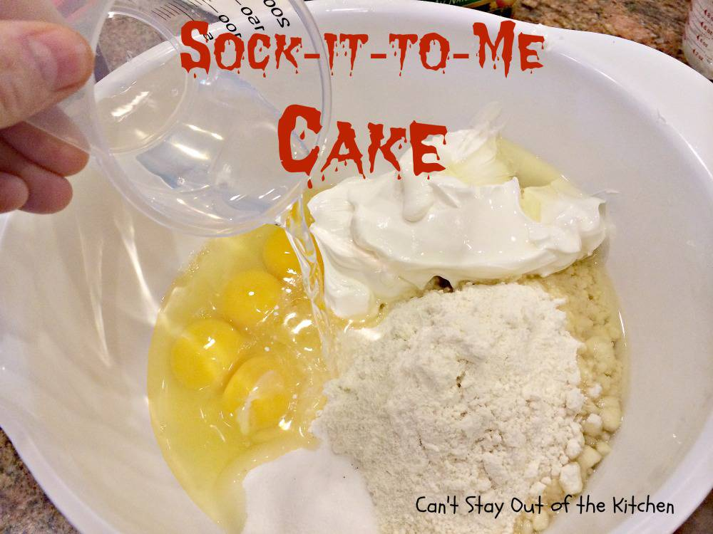 Paula Deen Sock It To Me Cake Recipe From Scratch