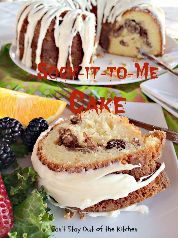 Can Hines Sock It To Me Cake Recipe