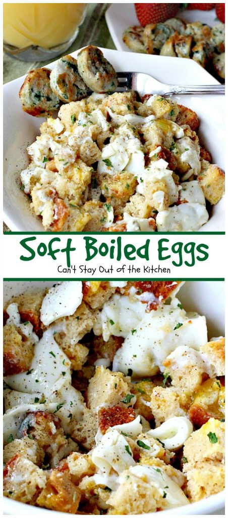 Soft Boiled Eggs | Can't Stay Out of the Kitchen