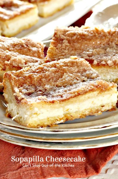 Sopapilla Cheesecake is a luscious and rich dessert your family will ...
