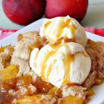 Southern Nectarine Cobbler | Can't Stay Out of the Kitchen | this sensational #cobbler will knock your socks off! I served it to a houseful of company & everyone loved it. It tastes a lot like #PeachCobbler but it's made with #nectarines. #dessert #southern #SouthernNectarineCobbler #NectarineDessert #Canbassador #WashingtonStateFruitCommission #WashingtonStoneFruitGrowers #WashingtonStateStoneFruitGrowers