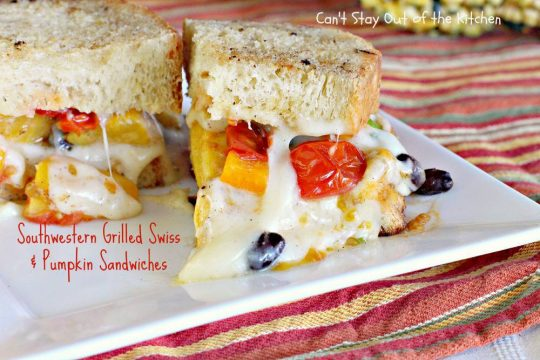 Southwestern Grilled Swiss and Pumpkin Sandwiches - IMG_3563