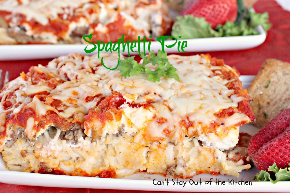 Spaghetti Pie   IMG_2656
