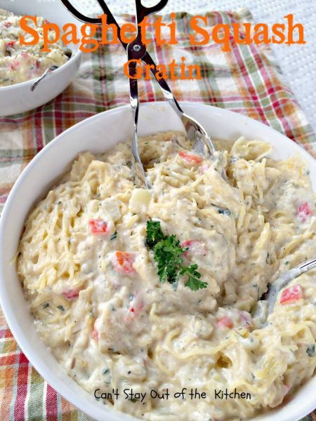 Spaghetti Squash Gratin - IMG_5751