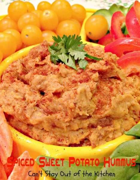Spiced Sweet Potato Hummus - Recipe Pix 21 260