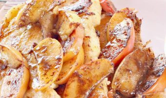Spicy Apple Pie French Toast