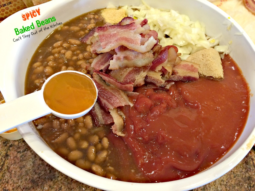 Spicy Baked Beans | Can't Stay Out of the Kitchen | great for summer ...