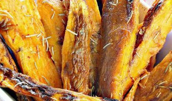 Spicy Sweet Potato Oven Wedges