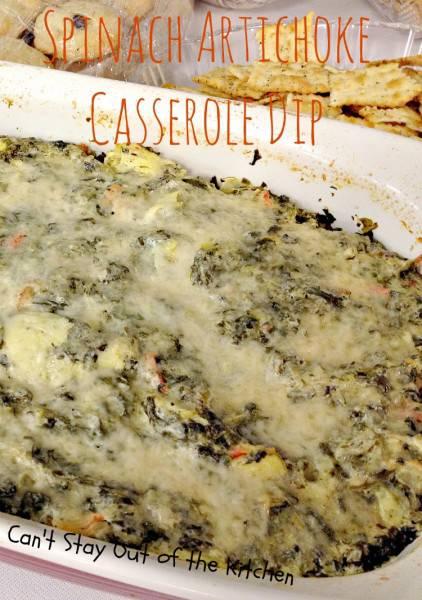 Spinach Artichoke Casserole Dip - IMG_9591.jpg