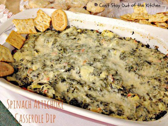 Spinach Artichoke Casserole Dip - IMG_9591