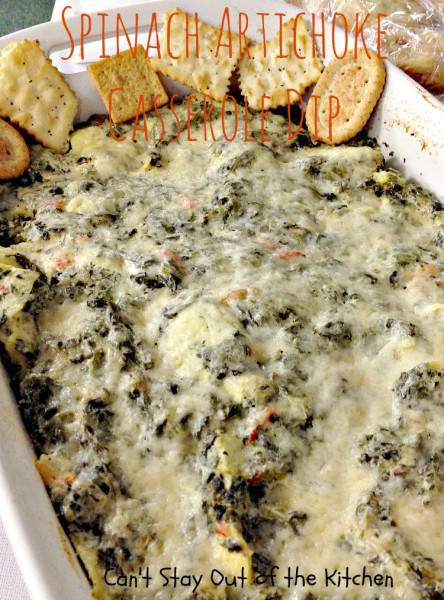 Spinach Artichoke Casserole Dip - IMG_9592.jpg