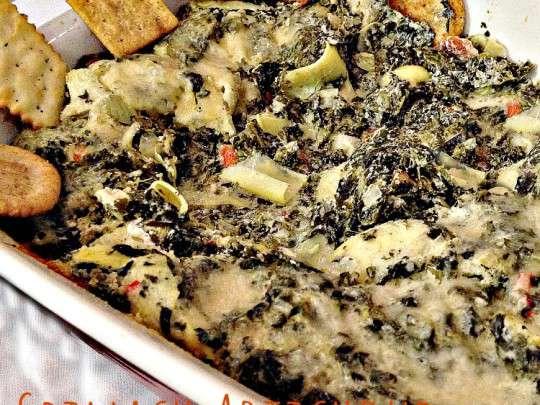 Spinach Artichoke Casserole Dip - IMG_9600.jpg