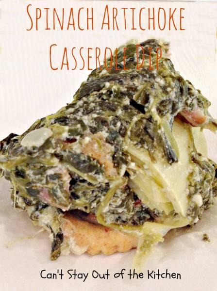 Spinach Artichoke Casserole Dip - IMG_9613.jpg
