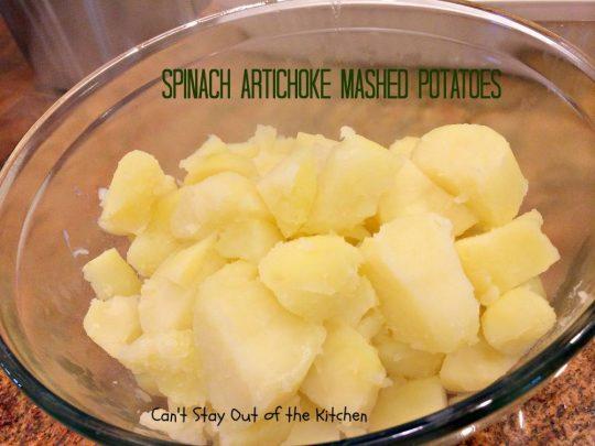 Spinach Artichoke Mashed Potatoes - IMG_8260