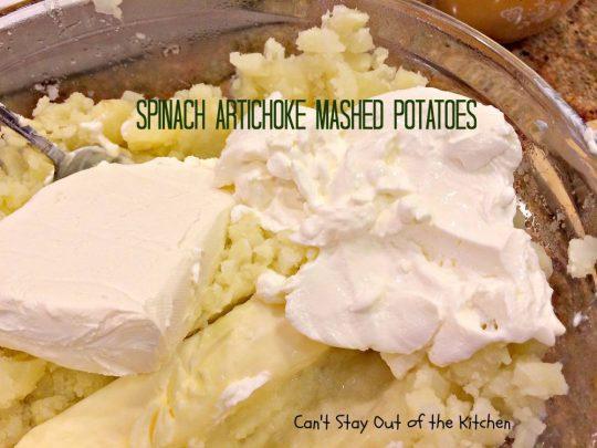 Spinach Artichoke Mashed Potatoes - IMG_8264