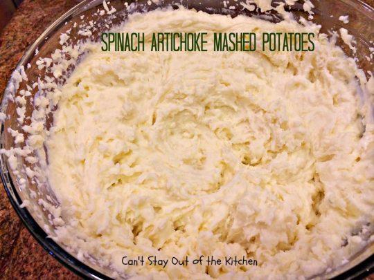Spinach Artichoke Mashed Potatoes - IMG_8265