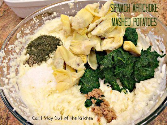 Spinach Artichoke Mashed Potatoes - IMG_8269