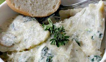 Spinach Mushroom Ravioli
