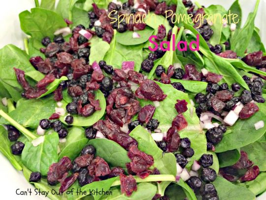 Spinach Pomegranate Salad - IMG_0519.jpg
