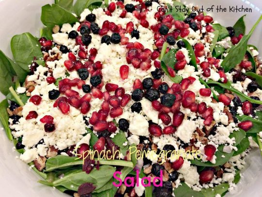Spinach Pomegranate Salad - IMG_0520.jpg