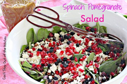 Spinach Pomegranate Salad - IMG_5763.jpg