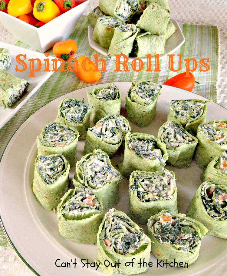 Spinach Roll Ups