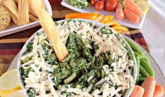 Spinach and Artichoke Hummus