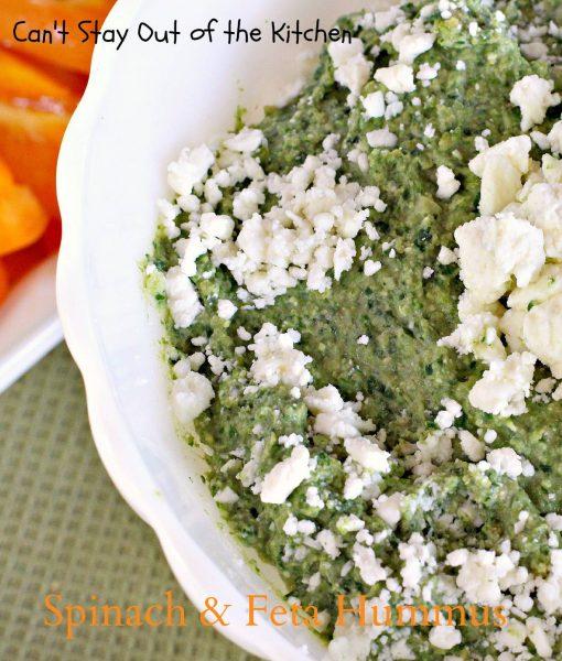 Spinach and Feta Hummus - IMG_1321
