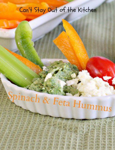 Spinach and Feta Hummus - IMG_1341