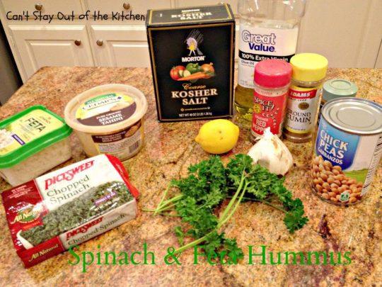 Spinach and Feta Hummus - IMG_6504