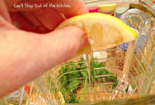 Spinach and Feta Hummus - IMG_6507