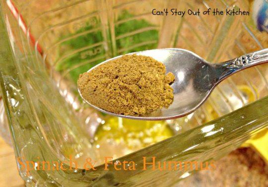 Spinach and Feta Hummus - IMG_6509