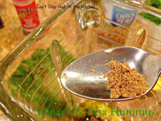 Spinach and Feta Hummus - IMG_6510