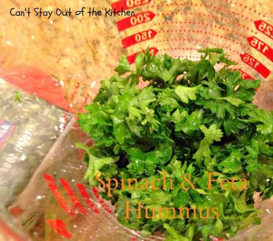 Spinach and Feta Hummus - IMG_6514